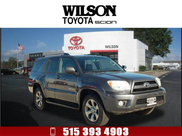2008 Toyota 4Runner Limited Gray