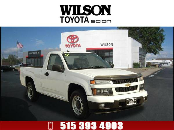 *2012* *Chevrolet Colorado* *Work Truck* White