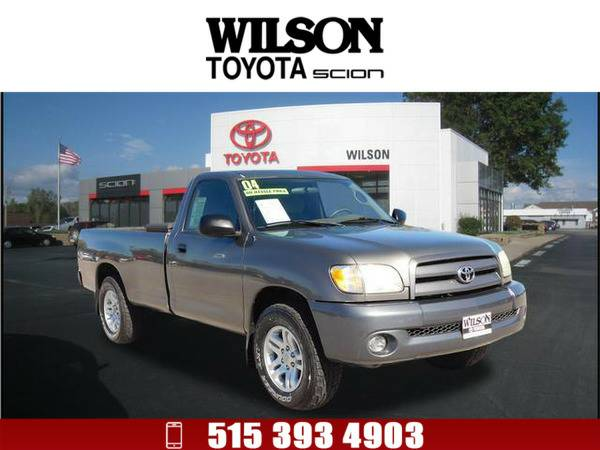 *2004* *Toyota Tundra* *Base* Gray