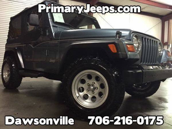 1997 *Jeep* *Wrangler* 4X4 -IN HOUSE FINANCE-FREE SHIPPING-WARRANTY