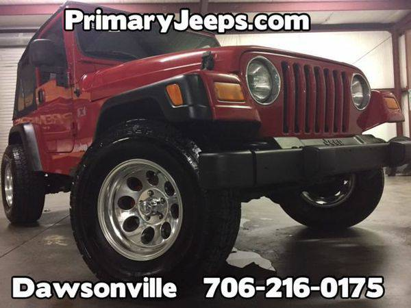2005 *Jeep* *Wrangler* 4x4 X -IN HOUSE FINANCE-FREE SHIPPING-WARRANTY