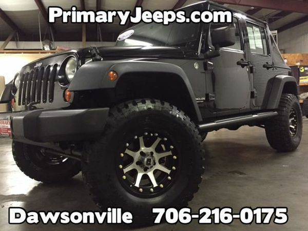 2007 *Jeep* *Wrangler* Unlimited 4x4 X -IN HOUSE FINANCE-FREE SHIPPING