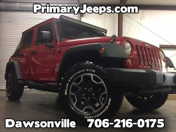 2008 *Jeep* *Wrangler* Unlimited X 4x4 -IN HOUSE FINANCE-FREE SHIPPING