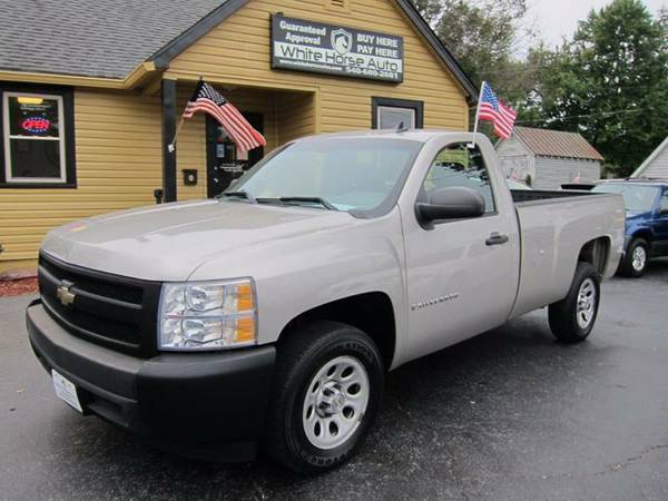 2008 CHEVROLET SILVERADO ~ $0 DOWN ON ANY PAID TRADE IN!