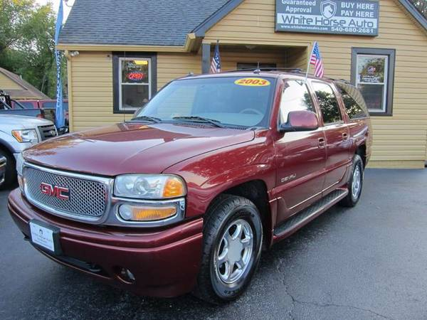 2003 GMC YUKON DENALI XL ~ $0 DOWN W/ ANY PAID TRADE IN!!