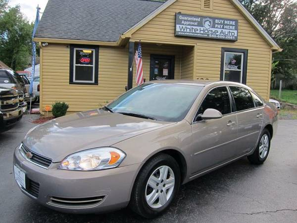 2007 CHEVROLET IMPALA ~ $0 DOWN ON ANY PAID TRADE IN!!