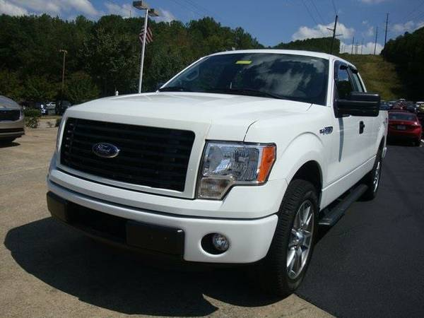 2014 *Ford F-150* STX (White)