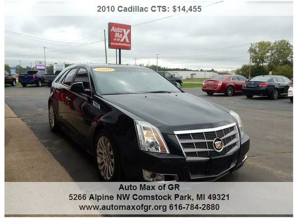 2010 Cadillac CTS Premium AWD Wagon ! DUAL MOON ! NAV ! LEATHER ! DVD