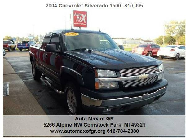 2004 Chevrolet Silverado 1500 LT Ext Cab 4WD Z71 ! LEATHER ! TOW !