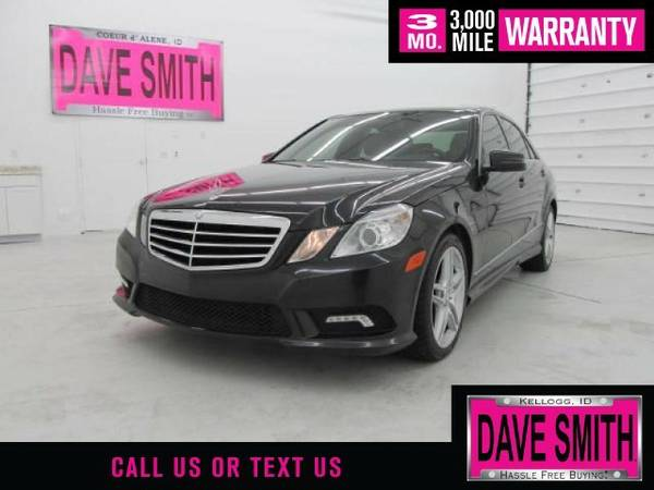 2011 Mercedes-Benz E350 4MATIC