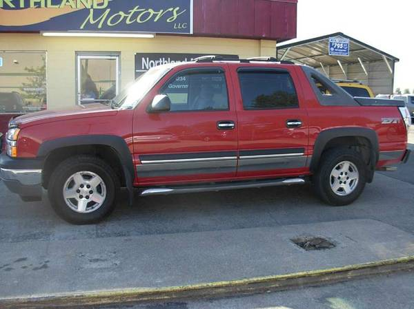 2005 Chevy Avalanche 4wd