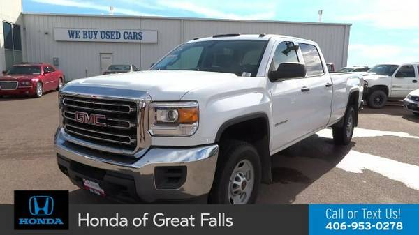 2015 GMC Sierra 2500HD BASE