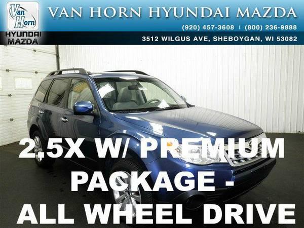 2013 *Subaru Forester* 2.5X Premium - Marine Blue Pearl BAD CREDIT OK!