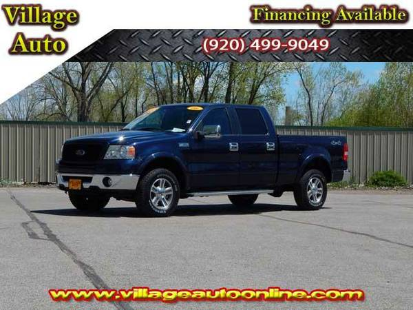 2006 *Ford F-150* Super Crew XLT 4x4 Shortbox *Reduced* - Blue-TRADE...