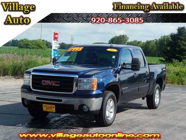 2011 *GMC Sierra 1500* SLT Crew Cab Shortbox *4x4* One-Owner - GMC...