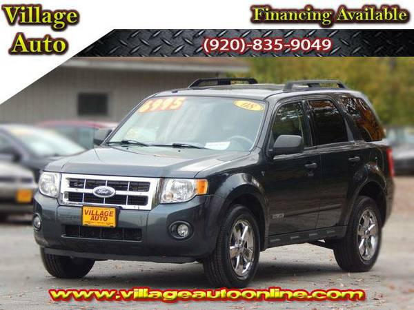 2008 *Ford Escape* XLT - Gray-TRADE INS WELCOME!