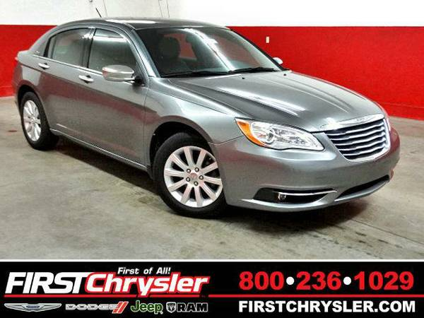 2013 *Chrysler 200* Limited - Chrysler Tungsten Metallic Clearcoat