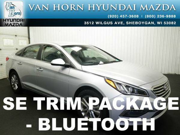 2015 *Hyundai Sonata* SE - Symphony Silver BAD CREDIT OK!
