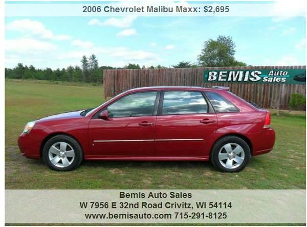 2006 CHEVY MALIBU LT MAXX