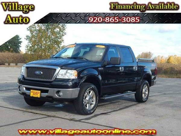 2007 *Ford F-150* LARIAT Super Crew *4x4* - Ford Black