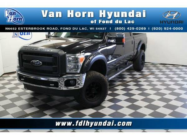 2012 *Ford F-350* 4x4 SuperCrew Lariat - Ford-Financing for Everyone