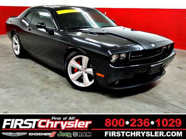 2009 *Dodge Challenger* SRT8 - Dodge Brilliant Black Crystal Pearlcoat