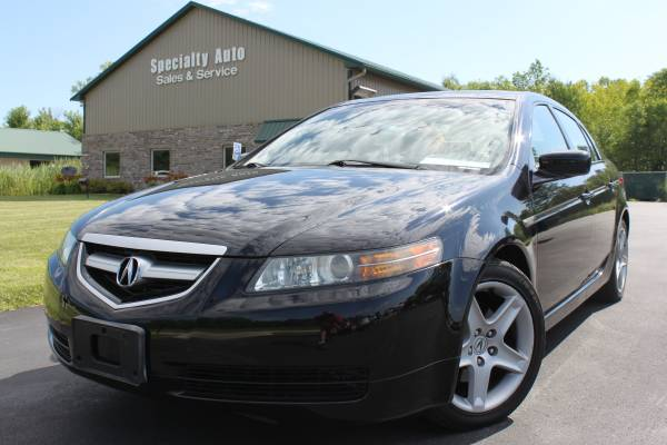 2004 Acura TL Sedan! Black Nighthawk Pearl Paint! NEW TIRES!