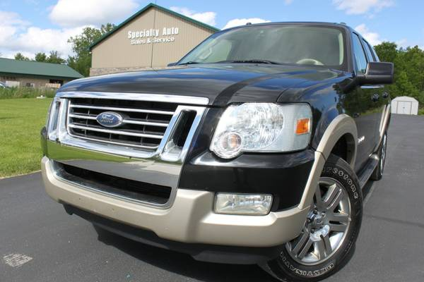 2007 Ford Explorer Eddie Bauer 4x4 SUV! Only 124k Miles! NEW TIRES!WOW