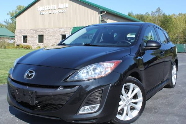 2010 Mazda Mazda3 Hatchback ! 1 OWNER! Only 105k Mi! Black! 35MPG!