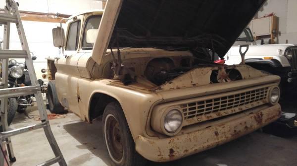 Original 1963 chevy stepside