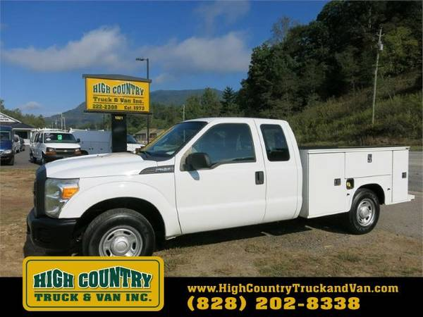 2012 Ford F250 SD SUPERCAB UTILITY TRUCK