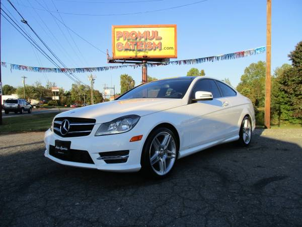 2015 Mercedes Benz C-250 AMG Coupe LOADED 1 OWNER NO FLAWS!!