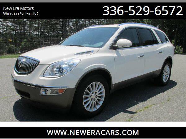 2010 BUICK ENCLAVE CXL Back Up Camera! 3rd Row!, White
