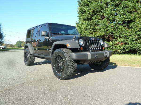 LIFTED 2012 Jeep Wrangler Unlimited Sport #1owner #cleancarfax