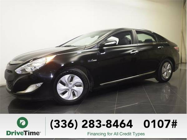 2013 *Hyundai Sonata Hybrid* Limited - BAD CREDIT OK