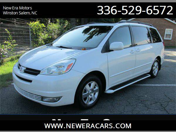 2004 TOYOTA SIENNA XLE Leather! NICE!!, White