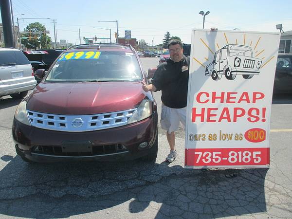 05 NISSAN MURANO BEST PRICE ONLINE ALL THE TIME WWW.224AUTO.COM WOW!!!