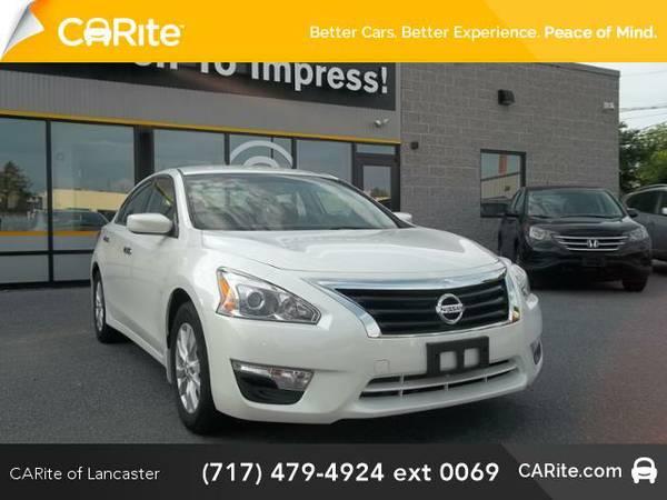 2014 *Nissan Altima* 4dr Sdn I4 2.5 S (Pearl White)
