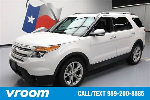 2014 Ford Explorer Limited 7 DAY RETURN / 3000 CARS IN STOCK