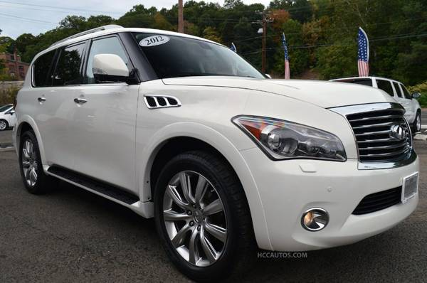 2012 Infiniti QX56* 4WD* TECH PKG* NAVIGATION* FRONT/BACK/SIDE CAMERAS