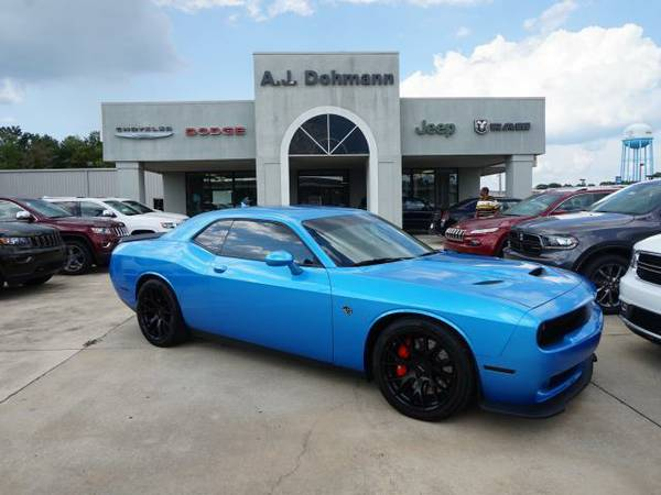 2015 *Dodge Challenger* SRT Supercharged - B5 Blue Pearl Coat