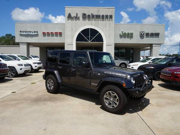 2014 *Jeep Wrangler Unlimited* Unlimited Rubicon 4WD - Billet...