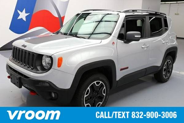 2015 Jeep Renegade Trailhawk 7 DAY RETURN / 3000 CARS IN STOCK