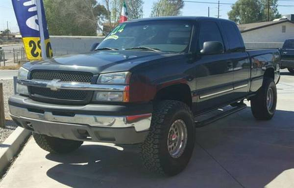 Silverado 1500 Extended Cab 2004 Pickup LS Pickup 4D 6 1/2 ft