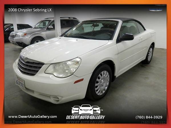 2008 Chrysler Sebring LX Convertible - MORE FOR YOUR MONEY!