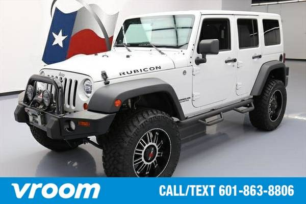 2013 Jeep Wrangler Unlimited Rubicon 7 DAY RETURN / 3000 CARS IN STOCK
