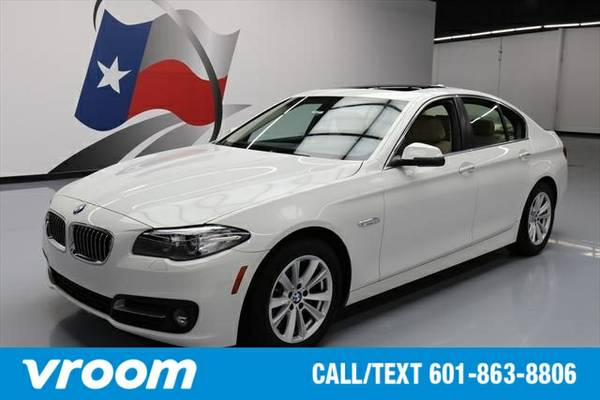 2016 BMW 528 i 7 DAY RETURN / 3000 CARS IN STOCK