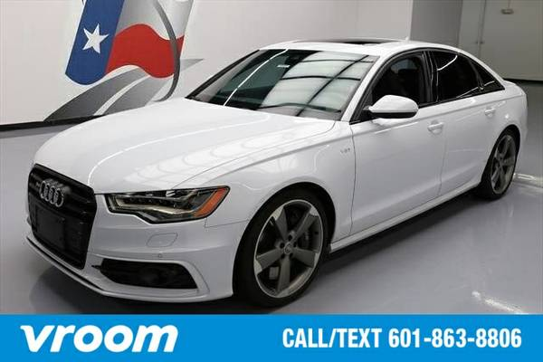 2014 Audi S6 4.0T Prestige 7 DAY RETURN / 3000 CARS IN STOCK