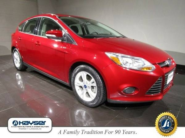 2013 Ford Focus SE Hatchback Focus Ford