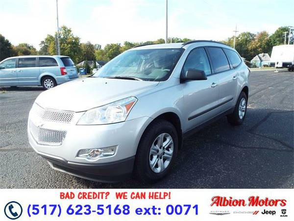 2012 *Chevrolet Traverse* LS - BAD CREDIT OK!
